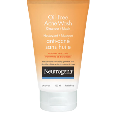 Neutrogena Oil-Free Acne Wash Cleanser/Mask Review! | Make Up For All